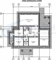 Проект Дипломат - План цокольного этажа